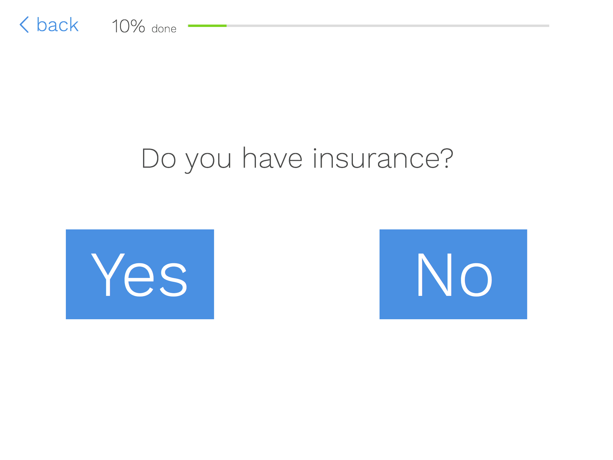 Insurance Question on iPad